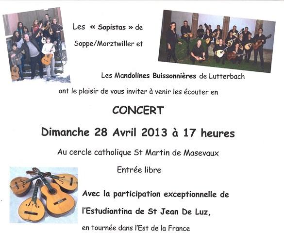 concert de mandolines