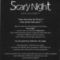 Casting pour la Scary Night