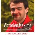 Concert ' Victorien Maxime'