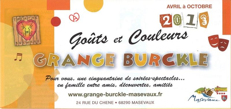 Grange Burcklé - Concert de chanson française