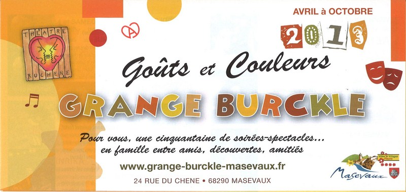 Grange Burcklé - Cabaret