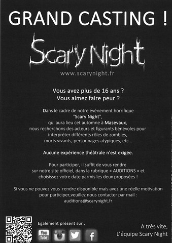 Grange Burcklé - Scary Night