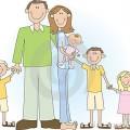 Image famille nombreuse pour site Internet