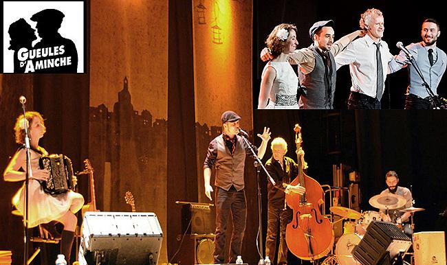 Concert Gueules d'Aminche