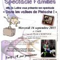 Spectacle familles - Dans les valises de pistache