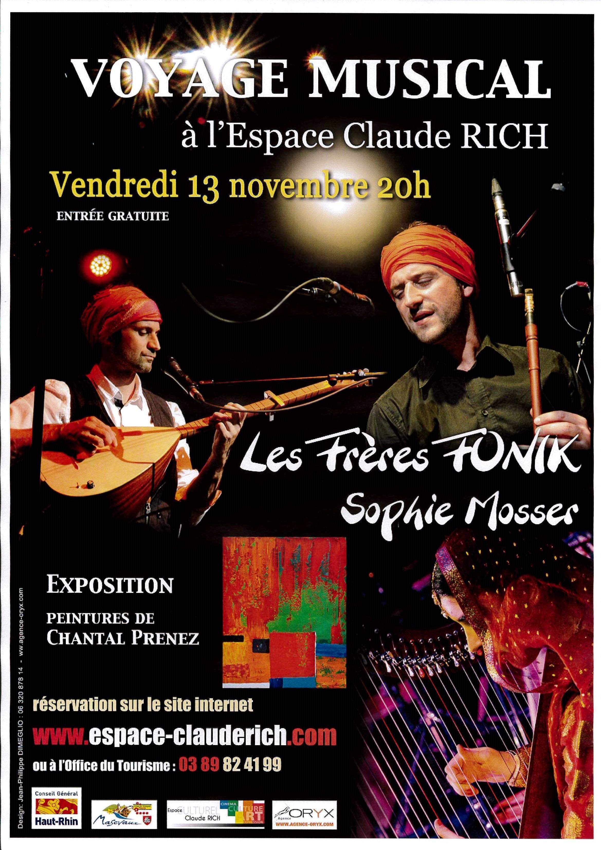Soirée Voyage musical
