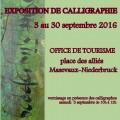 Expo de calligraphie