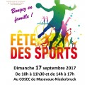 Affiche - Fête du sport