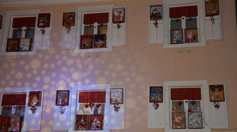 Les jolies fenêtres de l'Avent