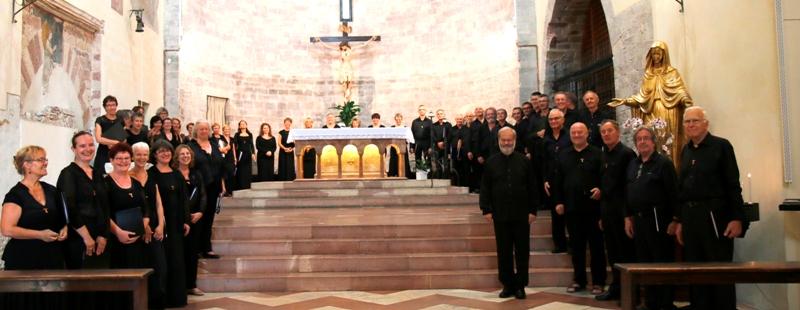 Concert du Choeur des Trois-Frontières