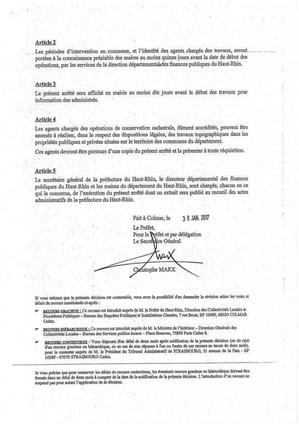 Info et arrêté mise à jour du cadastre 2017 (4)