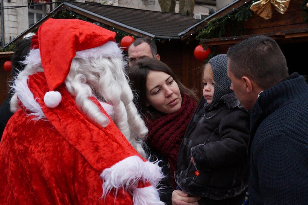 Passa du Père Noël en calèche