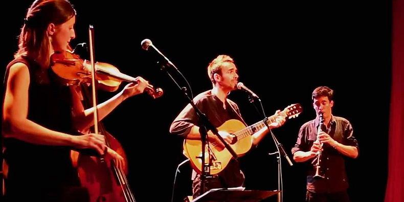 Concert: Malo chante Brassens
