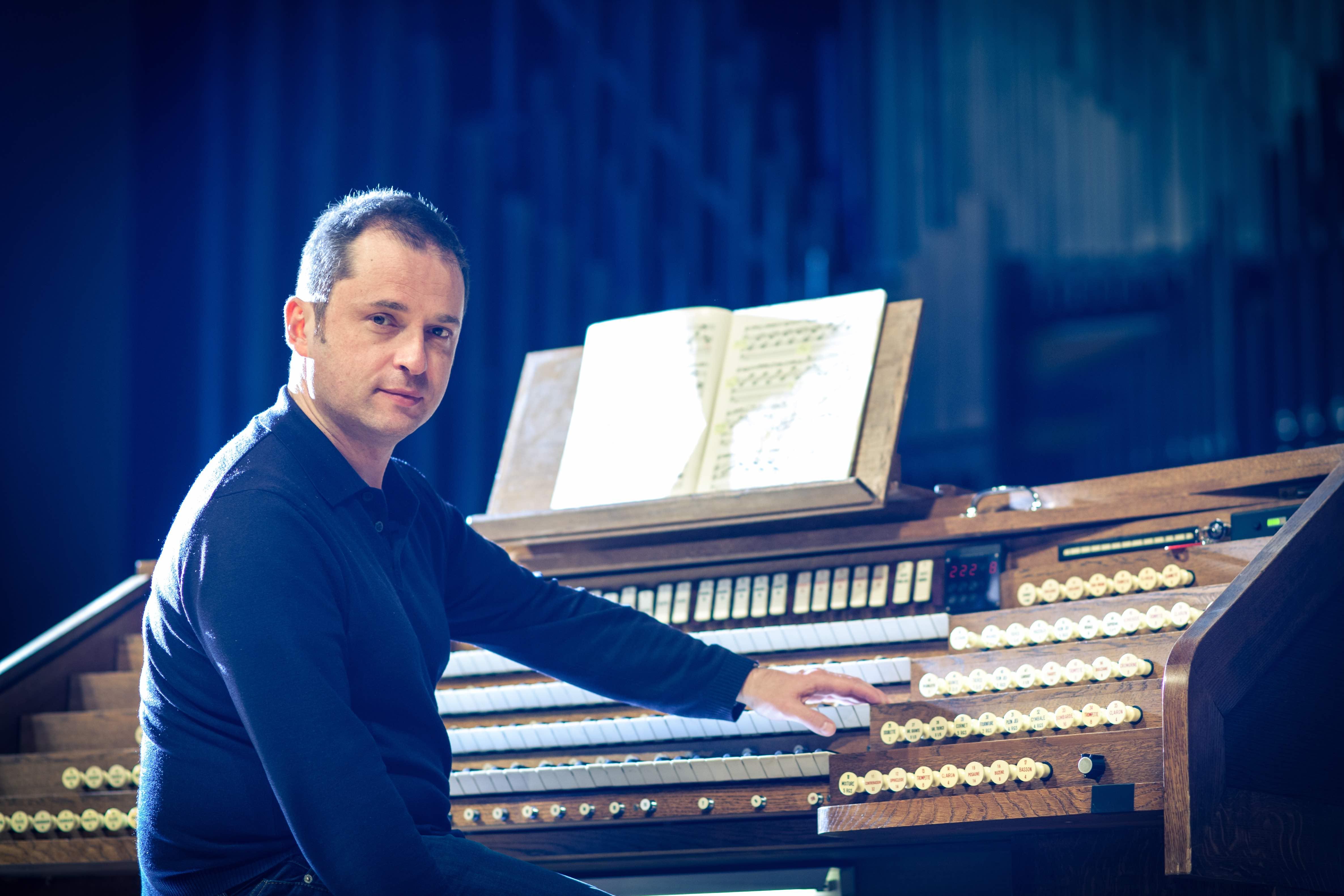 Concert du Festival d'Orgue - orgue en scène