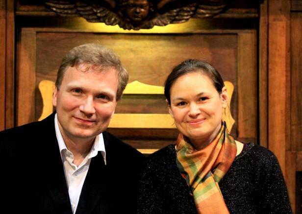 Eric Lebrun et Marie-Ange Leurent