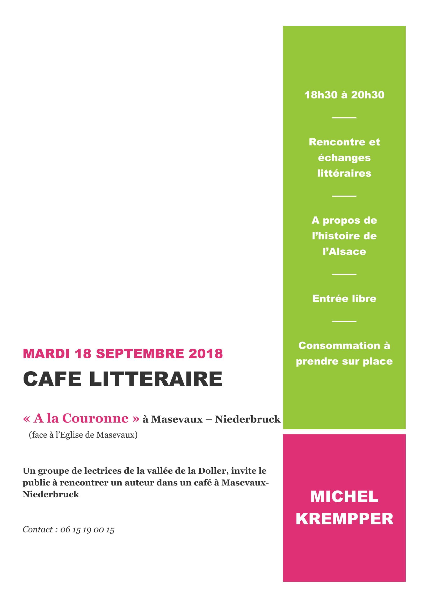 Flyer d'invitation Michel Krempper 18 sept 2018 (1)-1