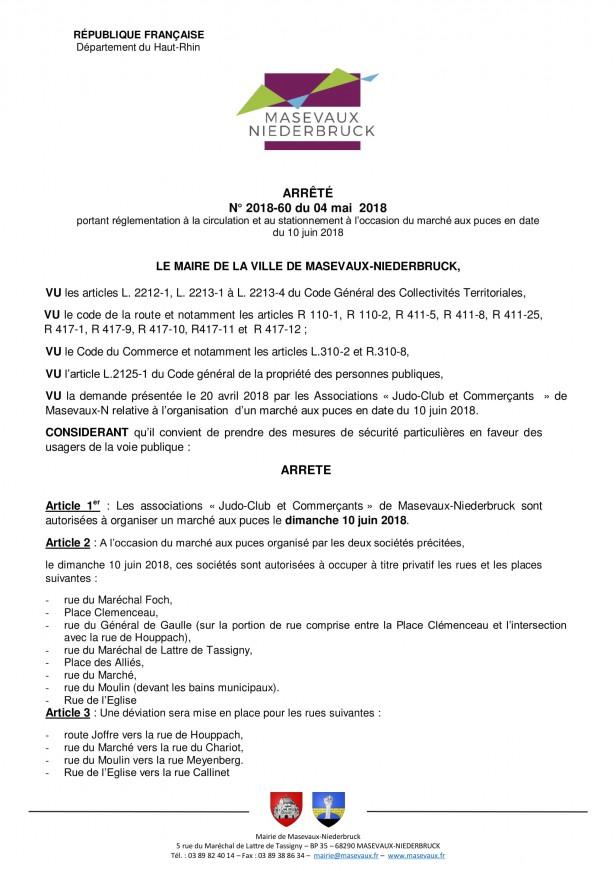 60 - Arr+¬t+® march+® aux puces 10 juin  2018 V6-1