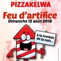 Feu d'artifice Pizzakelwa