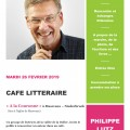 Flyer d'invitation Philippe Lutz 26 f+®v 2019-2-1