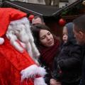 Passage du Père Noël en calèche