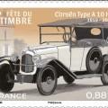 Fête du timbre avec balade timbrée en véhicules anciens