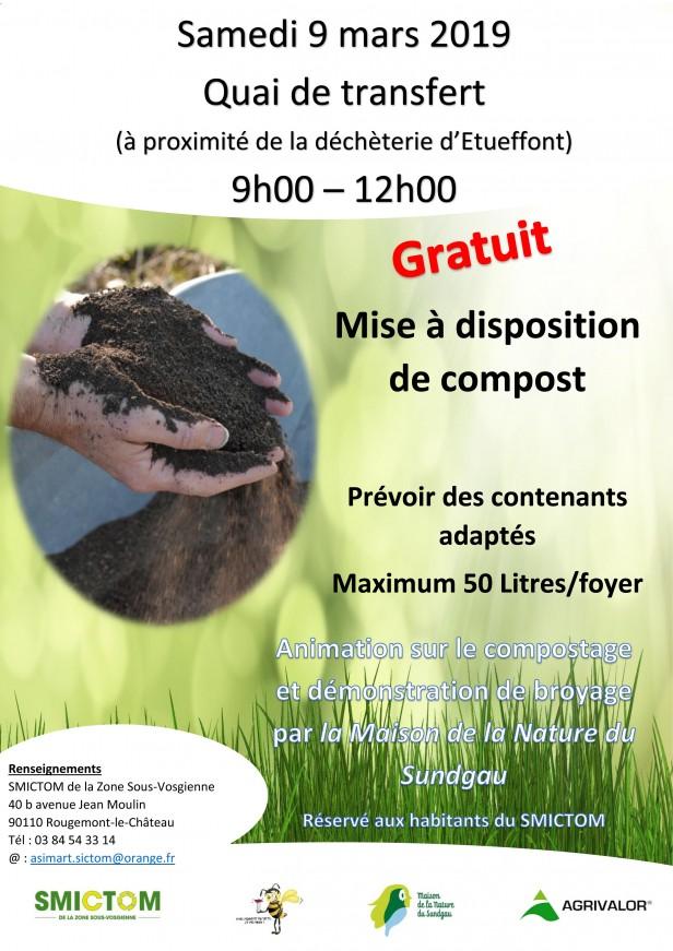 affiche opé compost Etueffont