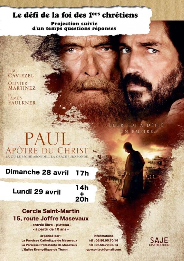 Affiche paroisse 28-29 avril 2019